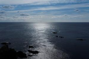大王崎灯台から南方を望む
