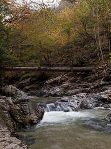 期待ハズレに終わった虻川渓谷。
