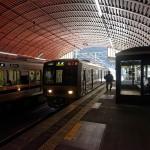 武田尾駅もトンネルの中でした。