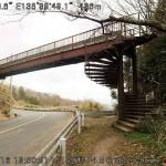歩道橋もあった。