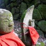 辻子谷ハイキングコースにはお地蔵さまがあちこちにあります。