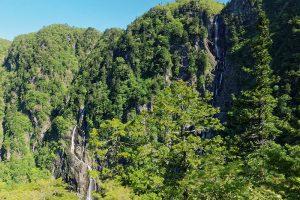 中の滝と西の滝