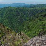 不動嵓、滝見尾根、中の滝、西の滝