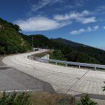 金北山山頂への入り口。ここからは防衛省の管理道路を利用する。