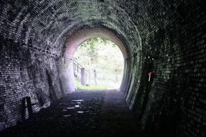 旧国鉄北陸線親不知トンネル。