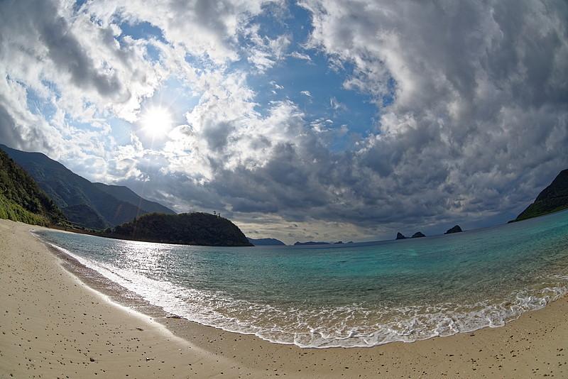 西古見の浜