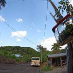 秋徳のバス停